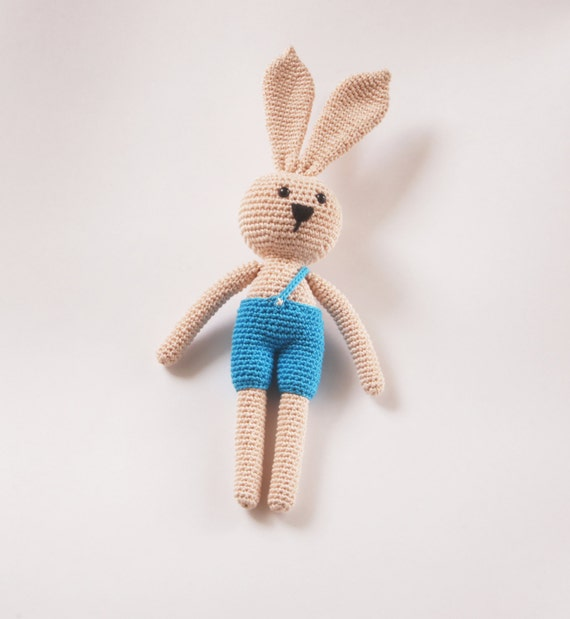 Amigurumi Forest Animals : Crochet Toy Doll Amigurumi Forest Animal Bunny Rabbit by ...