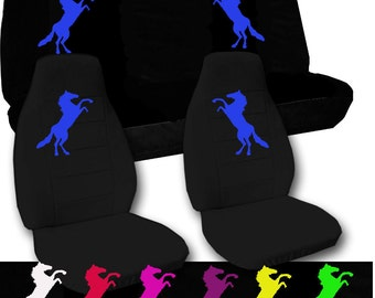 Mustang  Car Seat Covers....Any Colou Horser..We Make For All Cars..
