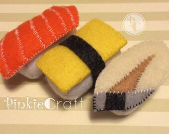 Custom Felt Sushi Plush