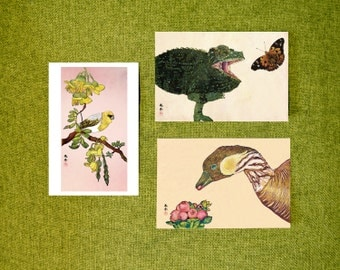 Postcard*Set of 3 (Hawaiian Nature)