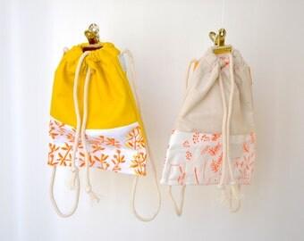 Petit sac à dos enfant / sac à doudou