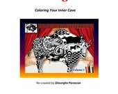 Prehistoric Rock Coloring Book I - An Inner Cave Coloring Book