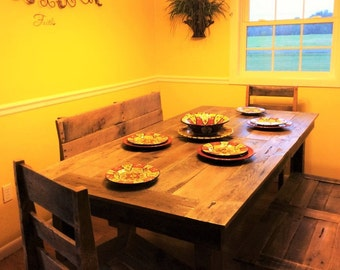 Pallet Dining Room Table