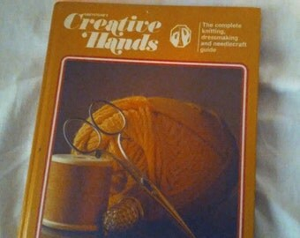 Vintage book, Greystone's Creative Hands Vol 1 & 2, 1966,Knitting,Dressmaking,Needlecraft