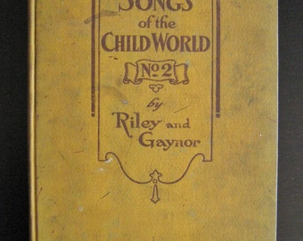 Songs of the Child World No 2  1904