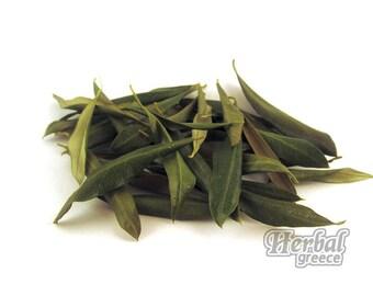 Organic Olive Tree Leaves, Greek, organic, 100g (3.5oz.)