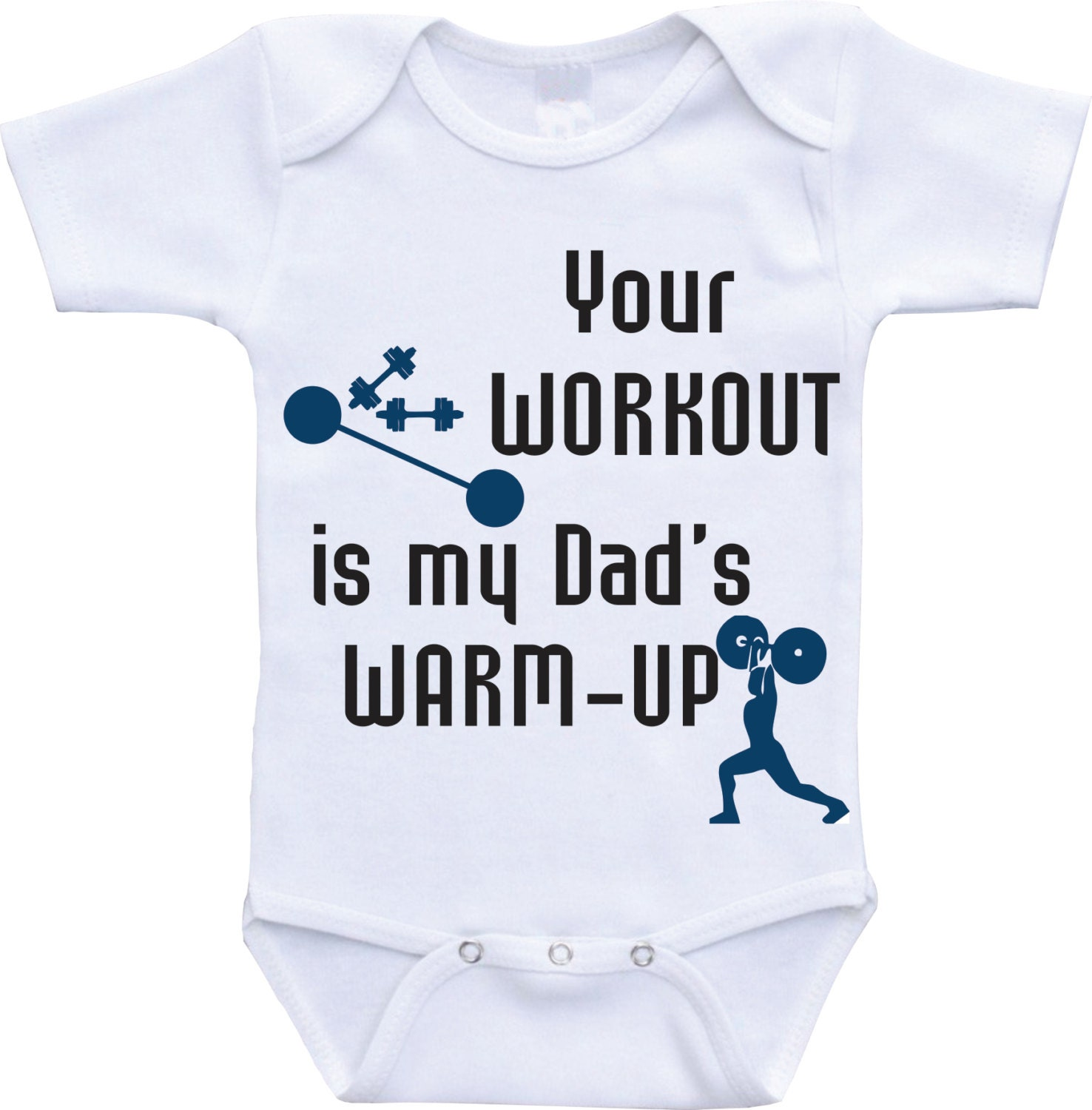 Workout Baby Clothes Your Dad Warm