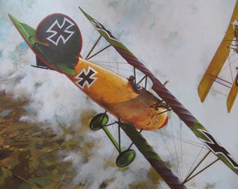 Vintage J.B. Deneen World War I EAGLES Series 1 WWI Echelon 1969