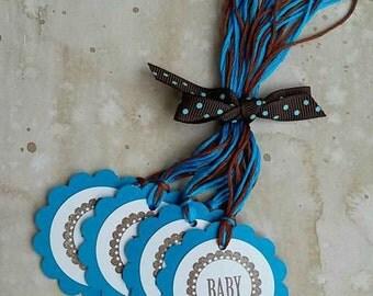 Baby Hang Tags, Set of 6 (Blue)