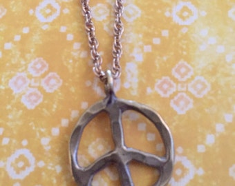 Give Peace a Chance necklace