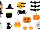 Halloween Cuties (planner stickers)
