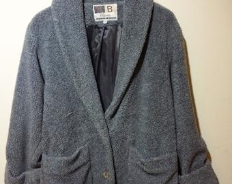 Amazing 90's Fleece blazer like jacket