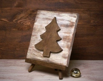 3D-Wooden Christmas Picture
