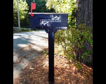Mailbox Lettering Etsy - Custom vinyl decals for mailbox