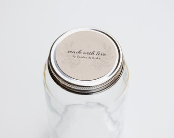 Made with Love Stickers - Gift Labels