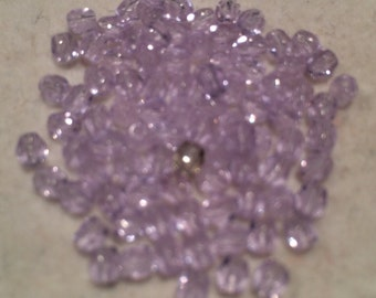 Faceted Round Fire Polished Beads, 3mm, Alexandrite, FP3/021, 50 Beads, Czech Glass