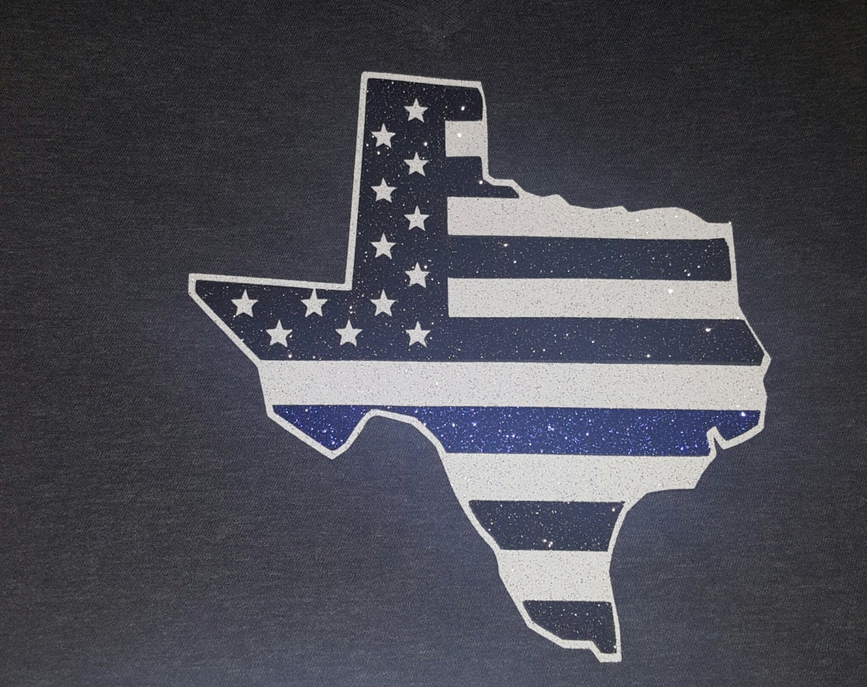 Thin blue line t shirt texas thin blue line shirt by for Texas thin blue line shirt