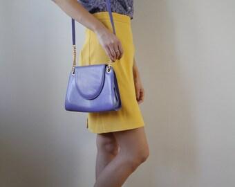 Vintage Purple Handbag
