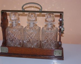 Antique Liquor Tantalus