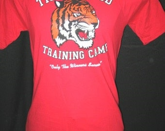 """NEW! TIGER BLOOD Training Camp """"Only the Winners Survive"""" Play on Charlie Sheen quotes - Free Shipping!"""