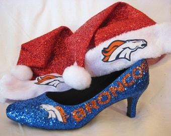 Glitter Bronco Heels