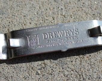 Drewry's Magnetic Beer Bottle Opener Vintage 1960's