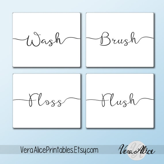 Cute Sayings For Bathroom Walls