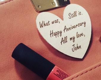 Wedding Anniversary Purse/Tie Patch