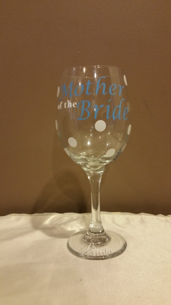 Sale Personalized Wine Glasses Wedding Glasses Mother