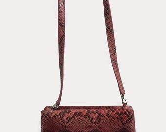 Fura Snakeskin Handbag