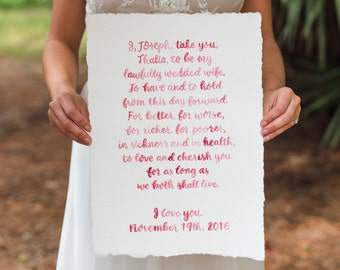 writing personal wedding vows
