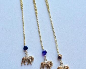 Crystal Elephant Tshirt Chains