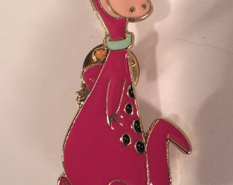 Large Dino Pin From the Flinstones