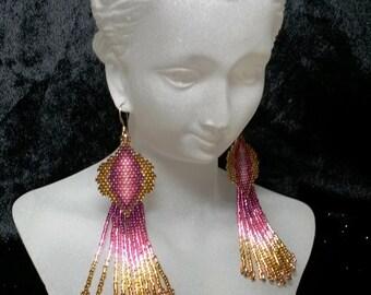 Shades of Splendor - Ready to wear earrings