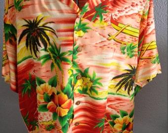 Vintage Aloha shirt by Pali