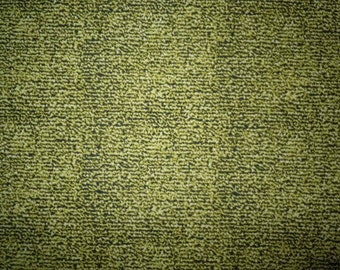Black on Olive Green Background by Cranston, VIP, 100% Cotton