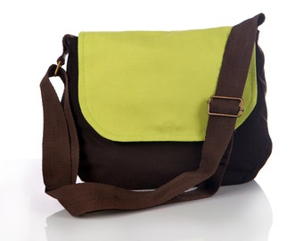Small crossbody purse, small fabric purse, cross body purse, cotton purses cross body, satchel bag girls, gift for teens, green purse summer
