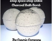 Deep Space Deep Detox Charcoal Bath Bombs set of 3