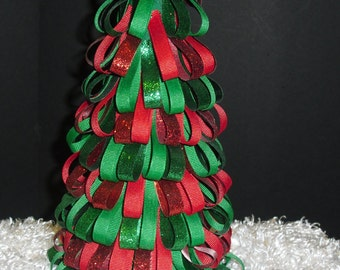 Christmas Ribbon Tree