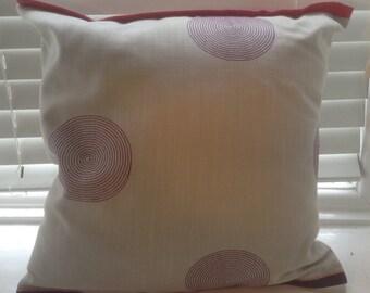 Purple Circle cushion PC02