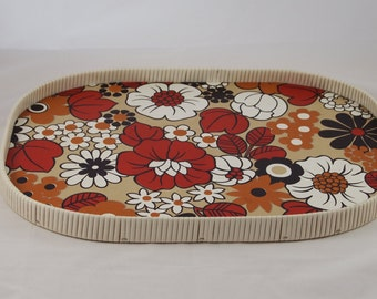Vintage serving tray 70s