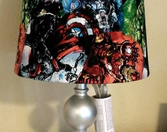Avengers Inspired: Lamp Shade
