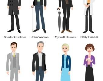 8 Sherlock Characters