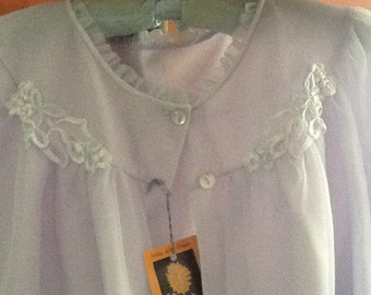 Mauve Bed Jacket from the 1960's