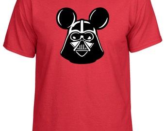 Disney Star Wars Inspired Darth Vader Mickey Vacation shirt