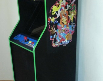 Upright 60 in 1 Multicade Arcade Game Pac Man Ms Pac Man Vintage Games Small Upright