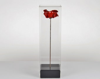 Ceramic Tower of London Poppy Display Case | Premium acrylic | Made in the UK