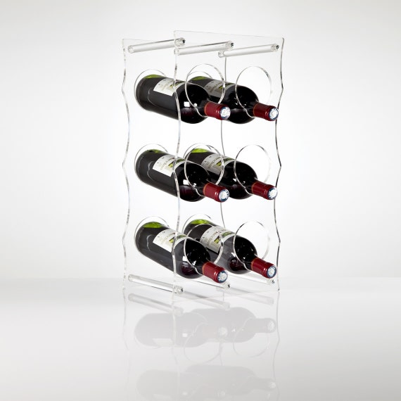 Clear Perspex Acrylic Wine Rack Premium Acrylic Made In