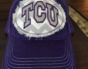 TCU Bling Patch Hat