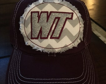 West Texas A&M Bling Patch Hat